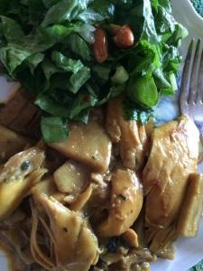 Chicken and Buckwheat Dumplings